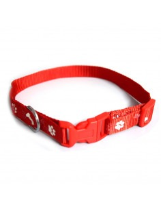 Pawzone Adjustable Printed Puppy Collar - 1/2 inch