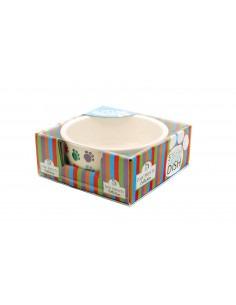 Pet Brands Cat & Dog Ceramic Bowl, 5inch