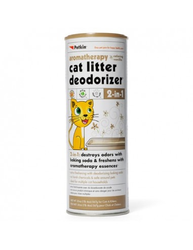 Petkin Cat Litter Deodorizer Vanilla 576 gms