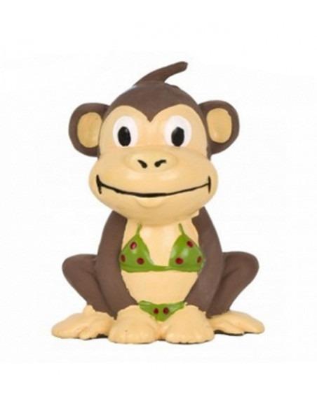 Pet Brands Go Wild Monkey Latex Toy, 10 cm