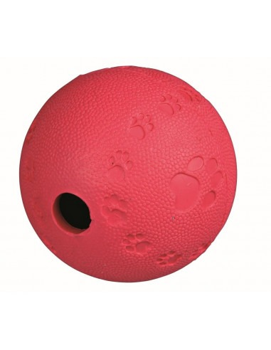 Trixie Snack Ball Interactive Toy, Natural Rubber, S