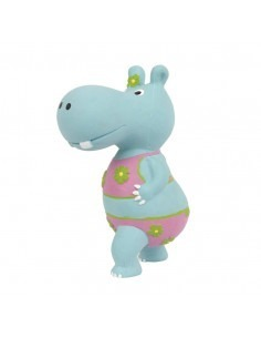 Pet Brands Hippo Latex Toy, 19 cm