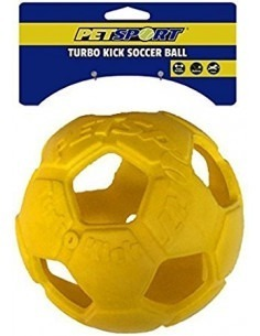 Petsport Turbo Kick Soccer Ball 2.5 Inch