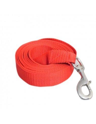 "Pawzone Training Leash 1.25"" Zinc Hook 10 Feet"