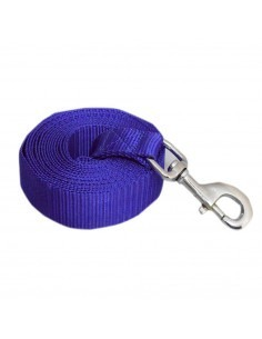 Pawzone blue Training leash with ZINC HOOK