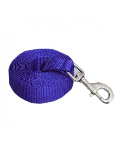 Pawzone blueTraining leash with ZINC HOOK