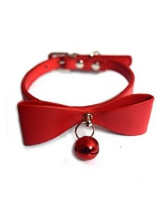Pawzone Red Adjustable Flower Cat Collars