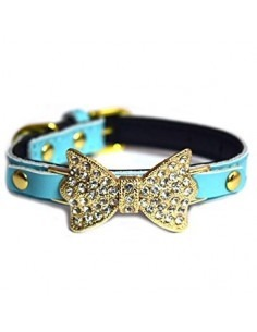Pawzone  Blue Adjustable Pendant  Cat Collars