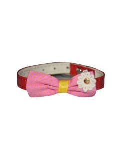 Pawzone Pink Polka Adjustable Cat Collars