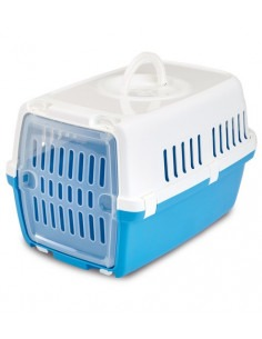 Savic Zephos 1 Pet Carrier Atlantic Blue 19x13x12 inch