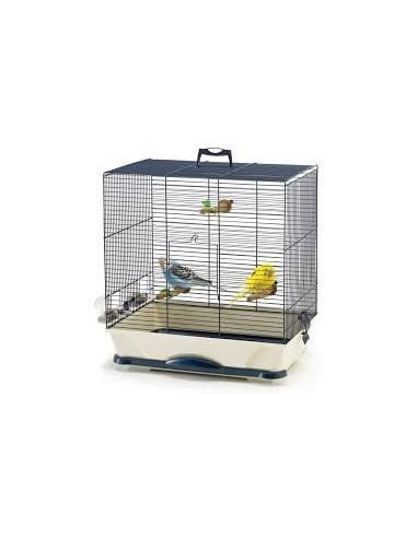 Savic Primo 30 Bird Cage, Navy Blue, 40x24x42 cm