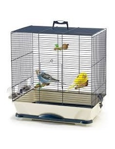 Savic Primo 30 Silver Bird Cage, 40x24x42 cm