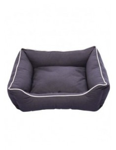 "DGS Lounger Bed 26"" x 24"" Pebble Grey S-M"