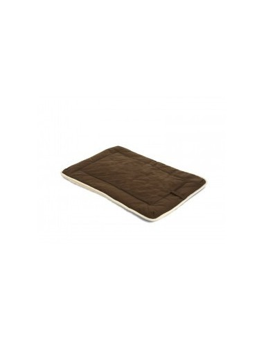 """DGS Crate Pad with Sherpa Top 23""""x36"""" Espresso L"""