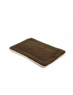 """DGS Crate Pad with Sherpa Top 28""""x42"""" Espresso XL"""