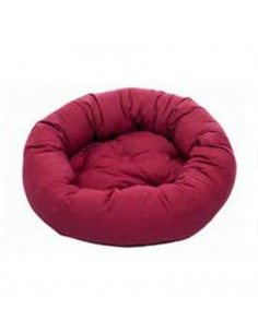 "DGS Donut Bed 42"" Cranberry L-XL"