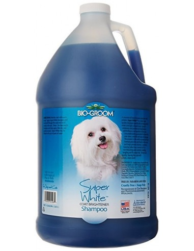 Bio-groom Super White Coat Brightening Shampoo Gallon