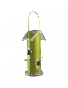 Trixie Outdoor Bird Food Dispenser Metal Silver
