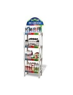 Biogroom Four Shelf In-Store Display