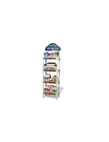 Biogroom Four Shelf In-Store Display