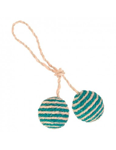 Trixie 2 Balls on a Rope, Sisal