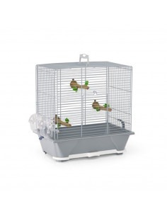 Savic Camille 30 Bird Cage, Warm Grey, 45x25x48 cm