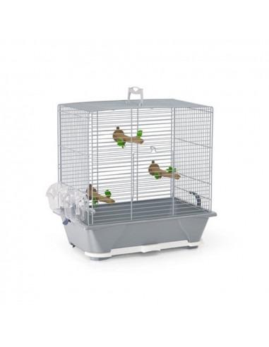 Savic Camille 30 Bird Cage, Warm Grey, 45x25x48 cm