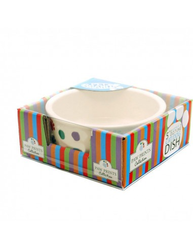 Pet Brands Ceramic Bowl 5 inch for Small Dogs
