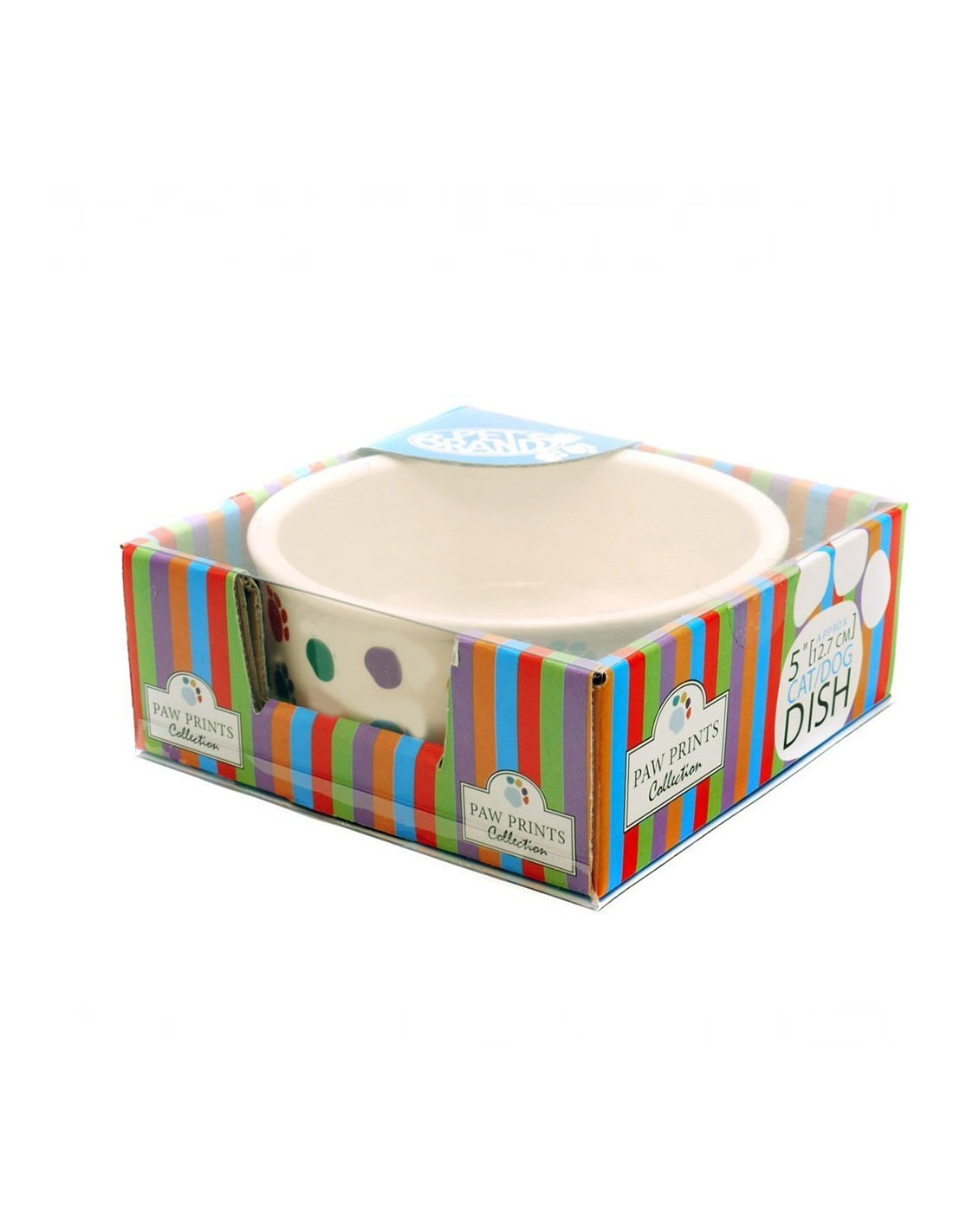 Pet Brands Ceramic Bowl For Small Dogs 5 Inch Marshalls