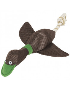 Duck Shape Quacks Dexter Dog Toy