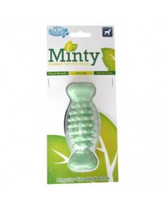 Pet Brands Large Minty Fresh Rubber Ball + Pet Brands Large Minty Rubber Bone