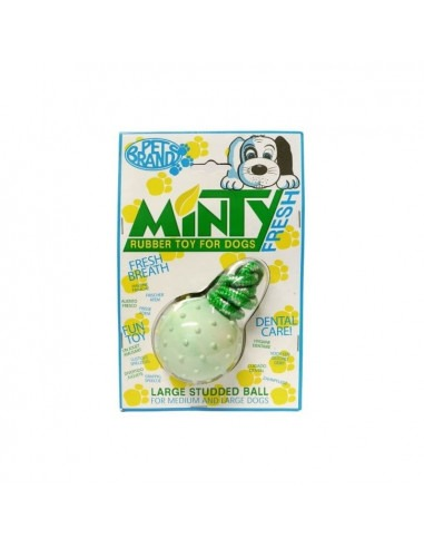 Pet Brands Minty Rubber Ball