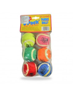 Tennis Balls Pack of 6
