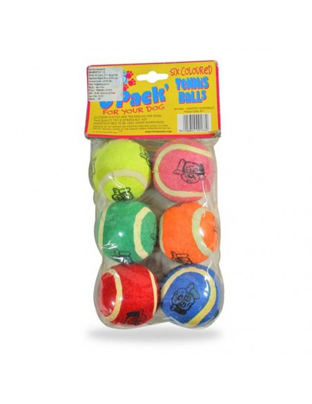 Pet Brands Tennis balls 6 pack
