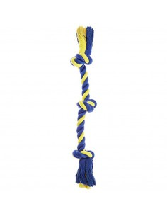 Petsport Medium Three Knot Cotton Rope, 44 cm