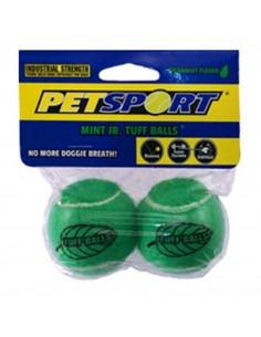 Petsport Tuff Mint Balls 2 pk