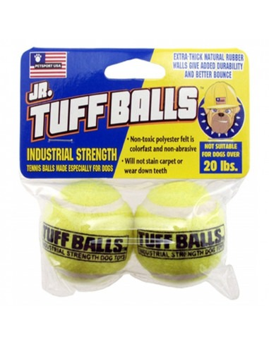 Petsport Tuff Balls 2 pk 5cm