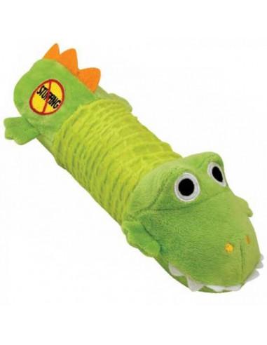 Stuffing Free Big Squeak Gator