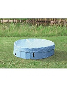 Cover for dog pool 39482, Light blue