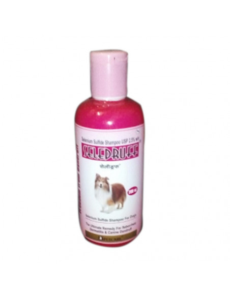 Seledruff Anti-Dandruff Shampoo For Dog, 200ml