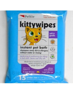 Petkin , Kittywipes 15 wipes