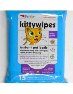 Petkin , Kittywipes 15 wipes