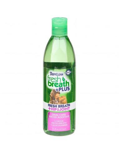 TROPICLEAN Fresh Breath Hip & Joint Water Additive 473 ml