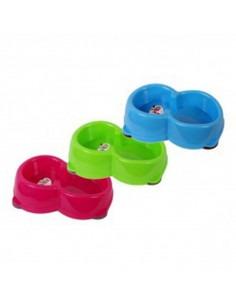 PET BRAND Colours Auto Food Feeding Bowl