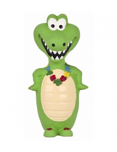 PET BRAND Crocodile Latex 18 cm Dog Toy