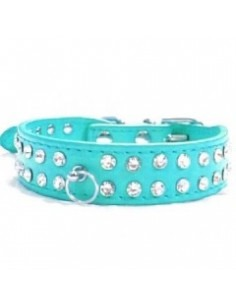 Two Row Studded Cat Collar