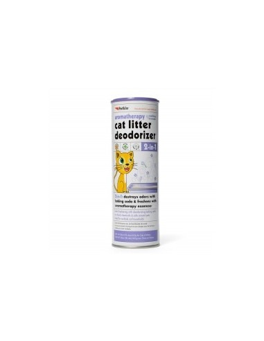 Petkin  2-in-1 Litter Deodorizer Lavender For Cat, 567 G