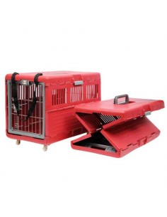 Pawzone red foldable carrier