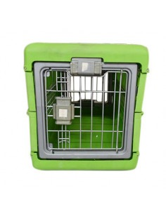 Pawzone Green Foldable Carriers for Big Dogs ( 21x28x14 inch)