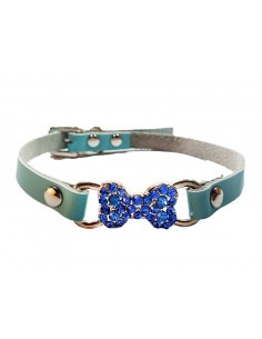 Pawzone Dazzling Blue Puppy and cat Collar
